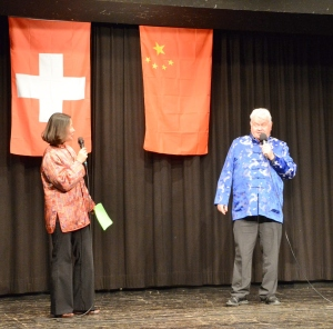 Wenmin und Bernhard